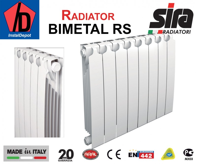 Calorifer Bimetal RS5