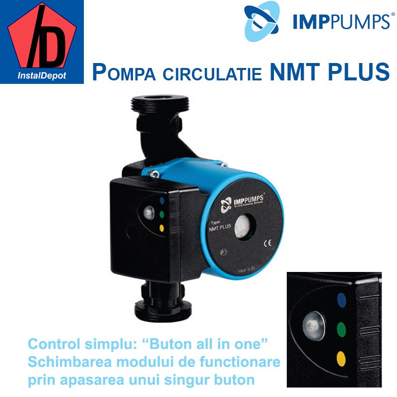 Pompa de circulatie IMP PUMPS NMT PLUS 25/40-180