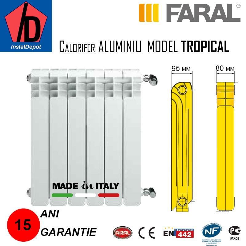Calorifer aluminiu Faral Tropical 350