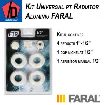 poza Kit universal pentru Calorifer Aluminiu Faral 1/2
