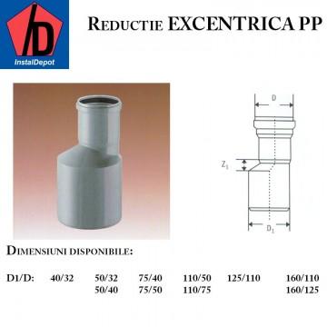 poza Reductie excentrica PP 75/40