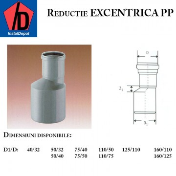 poza Reductie excentrica PP 160/125