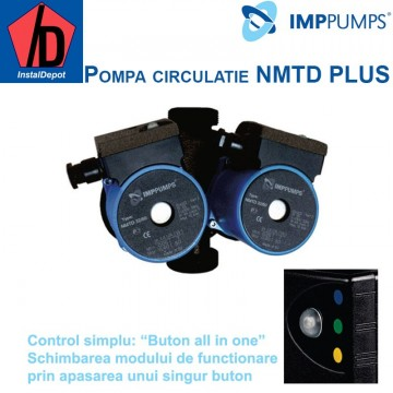poza Pompa dubla de circulatie IMP PUMPS NMTD PLUS 25/40-180