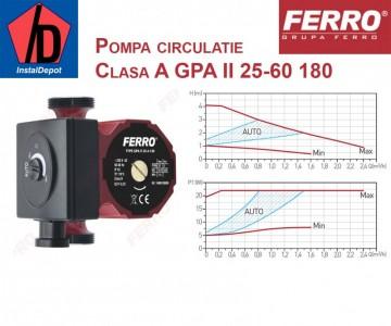 poza Pompa circulatie clasa A Ferro GPA II 25-40 130