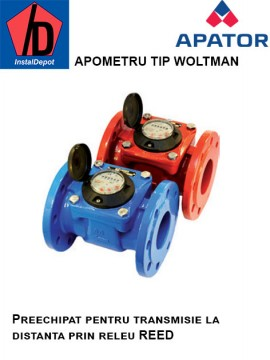 poza Contor apa rece tip Woltman MWN DN300